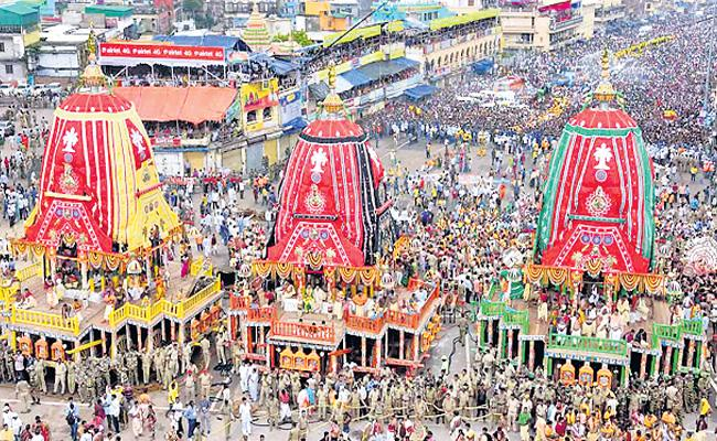 Supreme Court Stays Odisha in Puri Jagannath Yatra - Sakshi