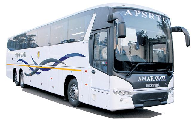 APSRTC to Resume Indra AC Bus Services - Sakshi