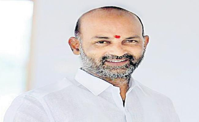 Bandi Sanjay Kumar Comments On Utilization of Krishna river water - Sakshi