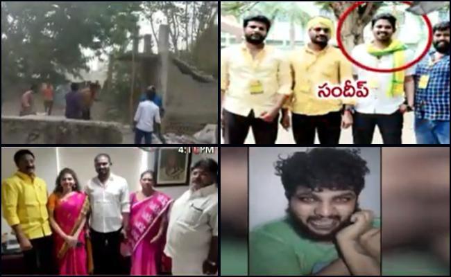 Vijayawada Gang War Case Key Update - Sakshi