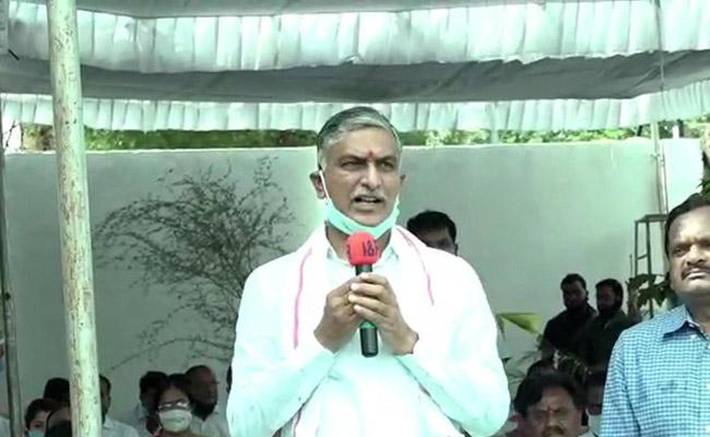 Telangana Formatuion Day: Harish Rao Comments In Siddipet - Sakshi