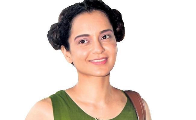 Kangana Ranaut Has Turned Interior Designer For Rangoli - Sakshi