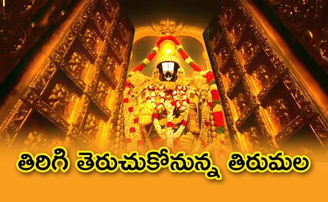 AP Government Green Signal To Open Tirumala Tirupati Temple - Sakshi