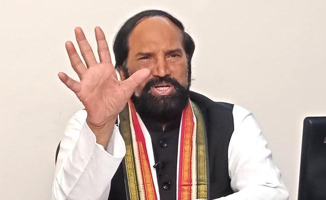Uttam Slams TRS Government Over Congress Leaders House Arrest - Sakshi