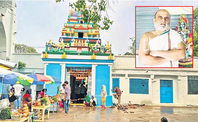 No Entry in Chilkur Balaji Temple Still COVID 19 Effects - Sakshi