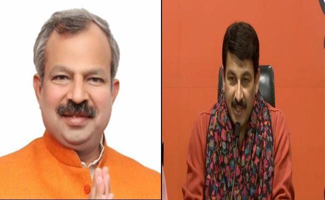 Adesh Kumar Gupta Replaces Manoj Tiwari As Delhi BJP President - Sakshi