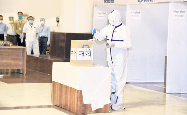 YSRCP has won all 4 Rajya Sabha seats from Andhra Pradesh - Sakshi