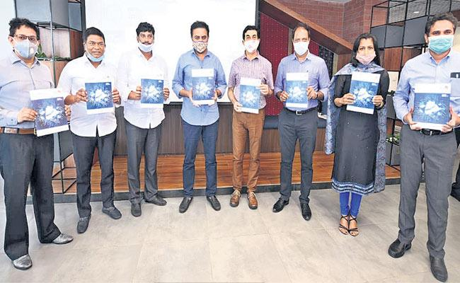 Telangana State IT Department Annual Report Released By KTR - Sakshi