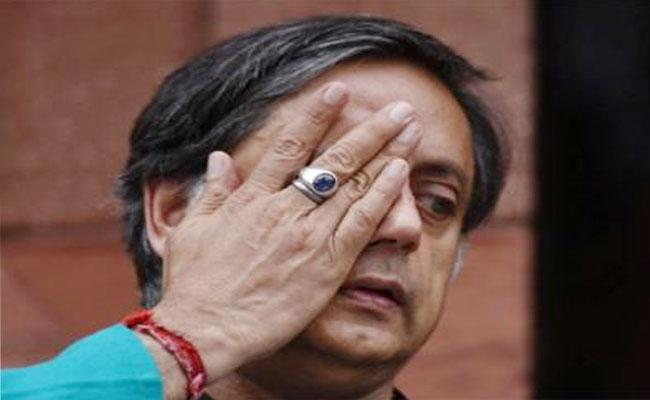 Congress Leader Shashi Tharoor Likes Fake Twitter News On PLA - Sakshi