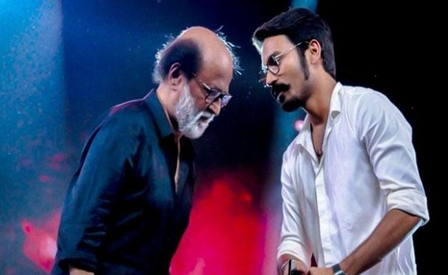 Why Rajinikanth Refuses To Film Actor Dhanush Movies - Sakshi