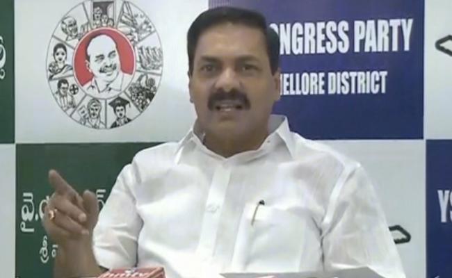 YSRCP MLA Kakani Govardhan Reddy Comments On Chandrababu And Lokesh - Sakshi