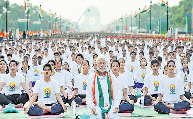 Ramesh Pokhriyal Guest Column On International Yoga Day - Sakshi