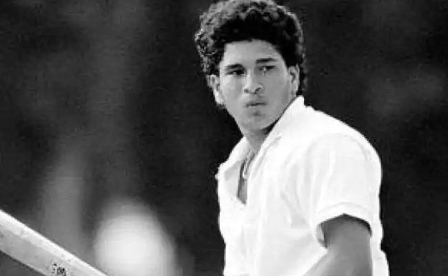 Sachin Tendulkar's First India Captain Helped Him Become Best Batsman - Sakshi