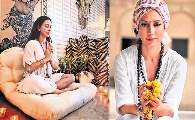Fashion Designer Malini Ramani Became to Yoga Teacher - Sakshi