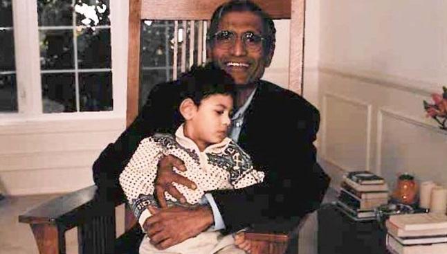 Microsoft CEO Nadella pays tributes to his dady yugandar - Sakshi