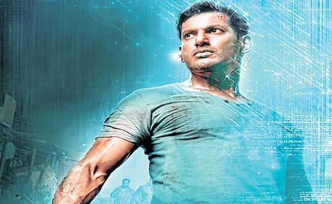 Vishal next Movie is Chakra first look released - Sakshi