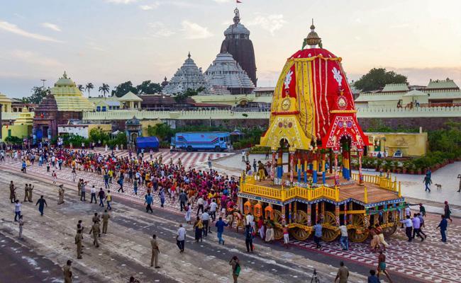 Supreme Court Order Allowing Jagannath Yatra Puts Pressure - Sakshi