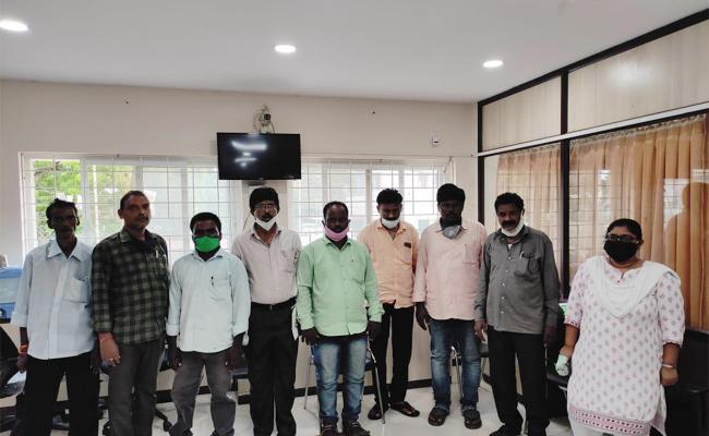 Nine Officials Held in BC Corporation Funds Wastage Case - Sakshi