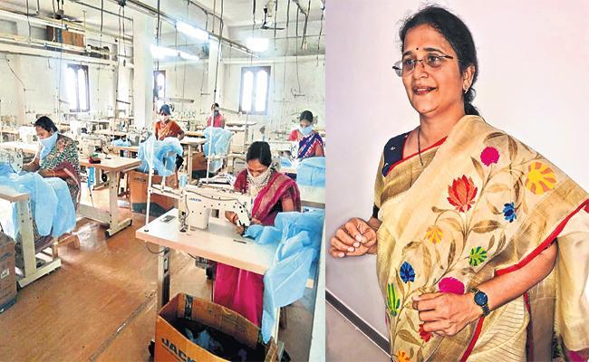 Garment Factory owner Meka Sireesha Special Story - Sakshi