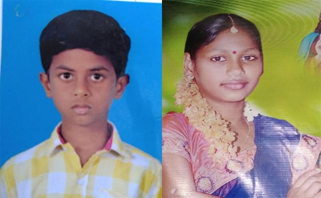 Two Children Deceased in Well While Drinking Water in Krishna - Sakshi