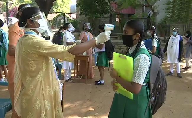 Tenth Exams Started In Karnataka - Sakshi