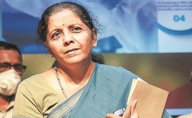 Why are even Ganesha idols imported from China asks FM Nirmala Sitharaman - Sakshi