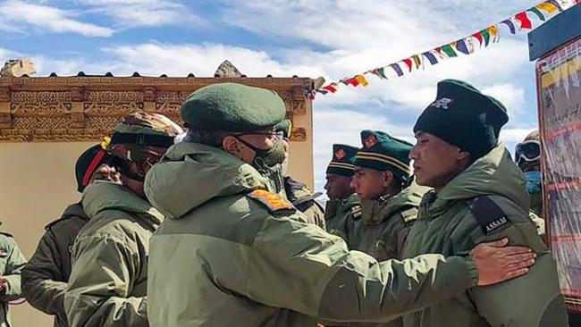 Naravane To Breif Border Situation To Rajnath Singh - Sakshi