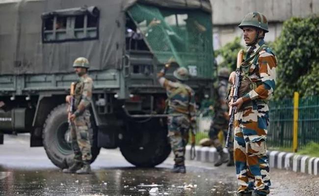 Terrorists Attack CRPF Party In Bijbehara Area of Jammu and Kashmir - Sakshi