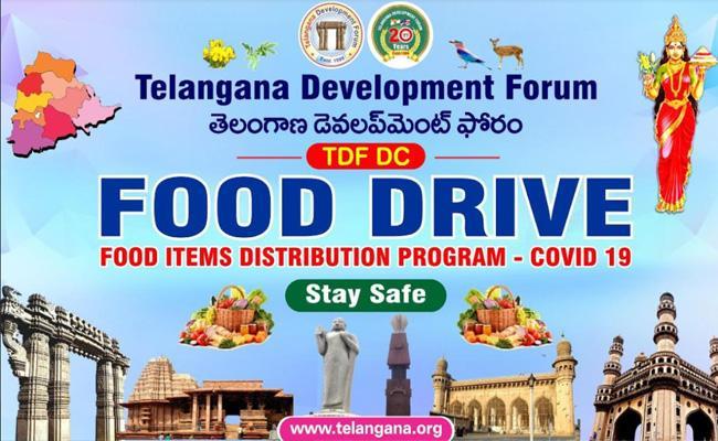 TDF Food Drive On Prof Jayashankar Death Anniversary - Sakshi