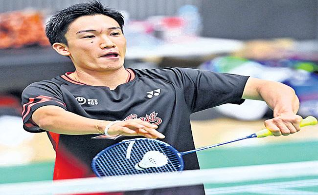 Badminton World Champion Kento Momota Recovered Totally After Crash - Sakshi