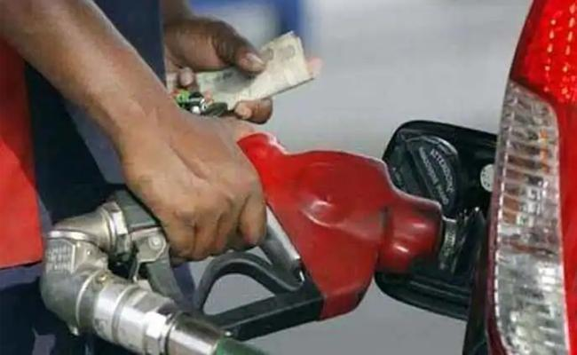 Petrol diesel prices go up again after a day pause - Sakshi