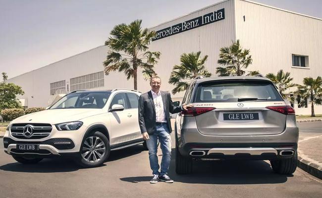 Mercedes-Benz Launch New SUV GLE LWB - Sakshi