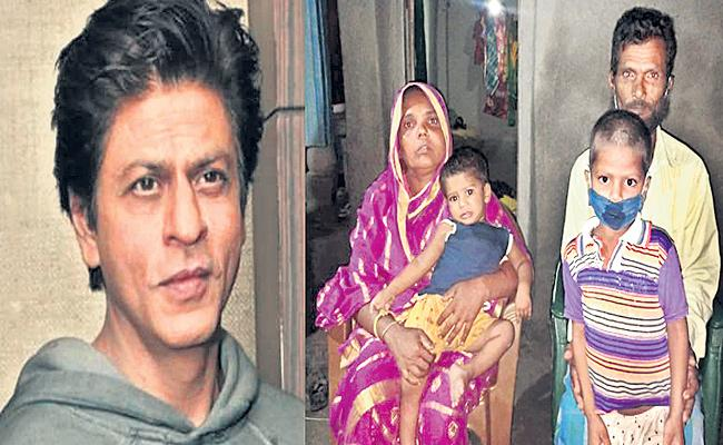 Shah Rukh Khan Adopted One Boy To Lookout His Future - Sakshi