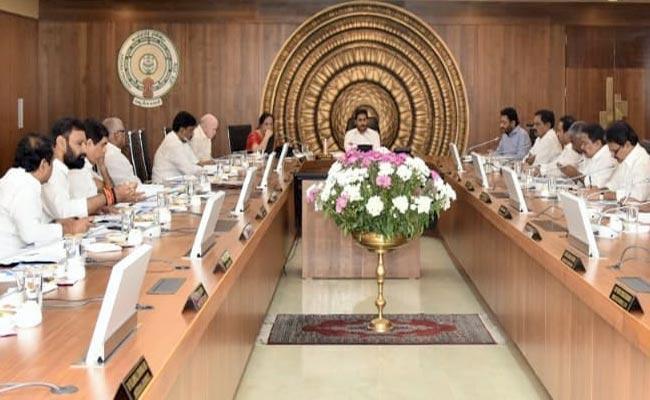 AP Cabinet Meeting On June 11Th - Sakshi