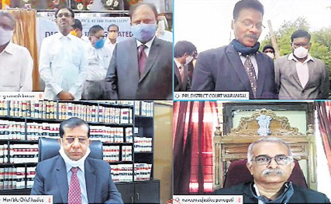 Mobile vehicle to investigate cases - Sakshi