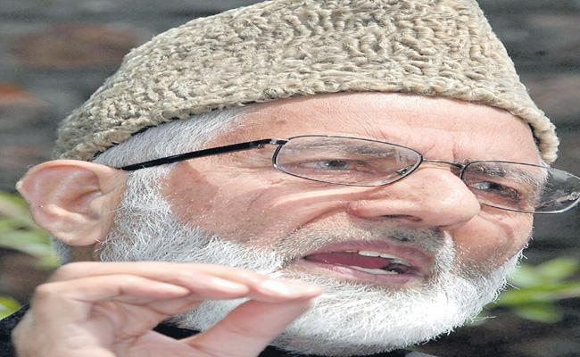 Syed Ali Shah Geelani Has Taken Sensational Decision Over Hurriyat Conference - Sakshi