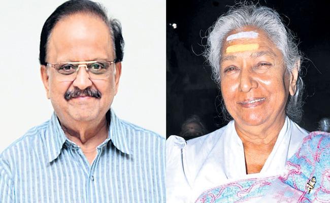 Singer S Janaki Is Safe Says SP Balasubrahmanyam - Sakshi