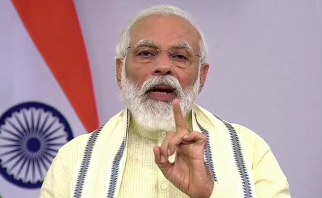 Narendra Modi Address The Nation - Sakshi