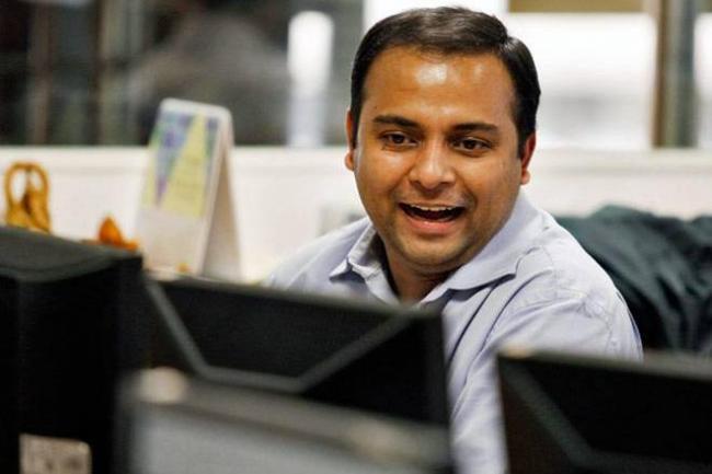 Sensex was up 200 points - Sakshi