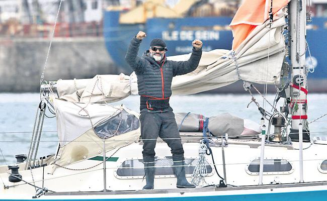 Special Story About Juan Manuel Ballestero Boat Journey Across The Atlantic - Sakshi