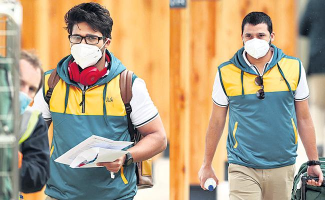 Pakistan Team Reached England For The Test And T20 Series - Sakshi