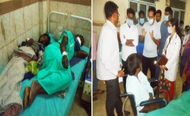 Tribal Man Deceased Of Food Poisoning In Visakha District - Sakshi