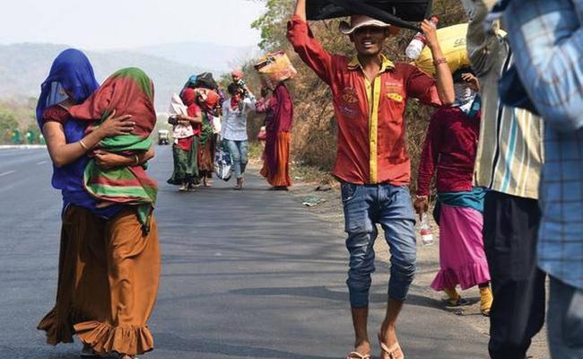 Madabhushi Sridhar Settaricle Article On Lockdown - Sakshi