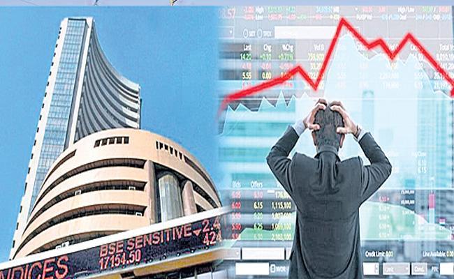 Sensex snaps 6-day winning run to end 129 points lower - Sakshi