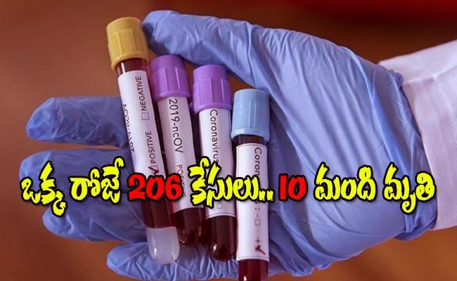 Coronavirus : 206 New Positive Cases Registered In Telangana - Sakshi