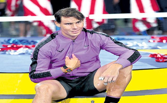 Rafael Nadal Speaks About US Open Grand Slam - Sakshi