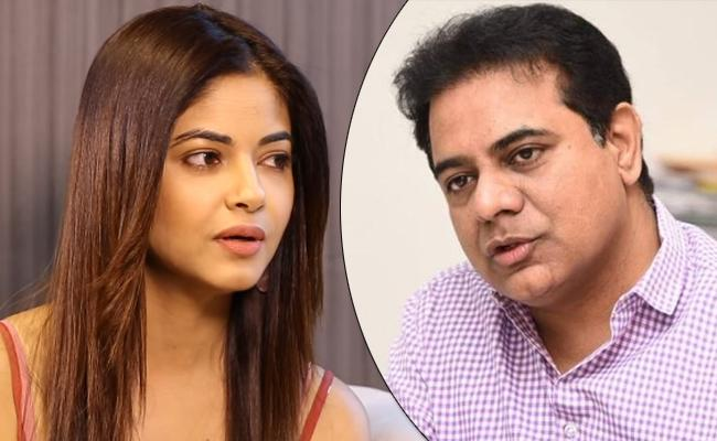 KTR Responds On Meera Chopra And JR NTR Fans Controversy - Sakshi