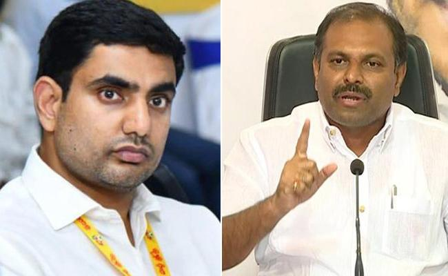 Chief Whip Srikanth Reddy challenges open debate at Kuppam or Mangalagiri - Sakshi
