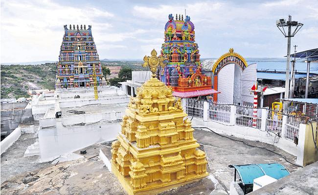 Temples Gears Up To Resume Darshan In Telangana - Sakshi