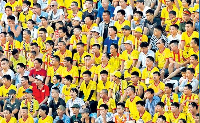 Audience Attended For V League Game At Ho Chi Minh City - Sakshi